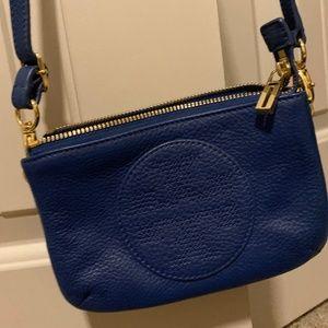 Tory Burch Kipp Small Blue Nile Crossbody Bag
